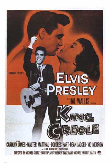 Essential Movies - King Creole Poster