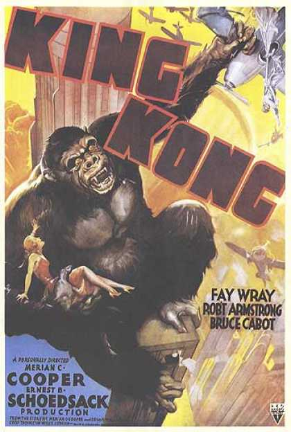Essential Movies - King Kong Poster