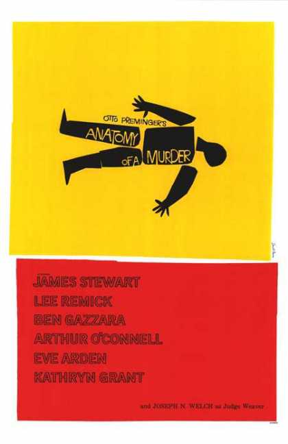 Essential Movies - Anatomy Of A Murder Poster