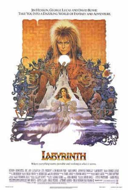Essential Movies - Labyrinth Poster