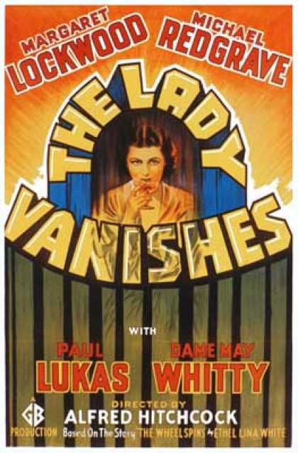 Essential Movies - Lady Vanishes Poster