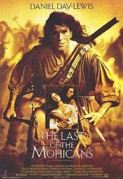 Essential Movies - Last Of The Mohicans Poster