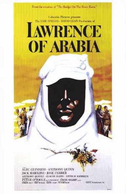 Essential Movies - Lawrence Of Arabia Poster