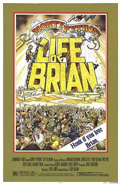 Essential Movies - Life Of Brian Poster