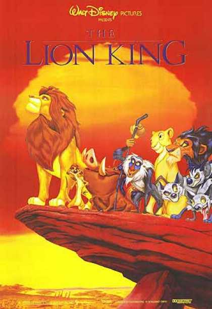 Essential Movies - Lion King Poster