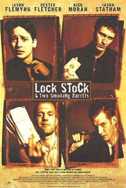 Essential Movies - Lock, Stock And Two Smoking Barrels Poster