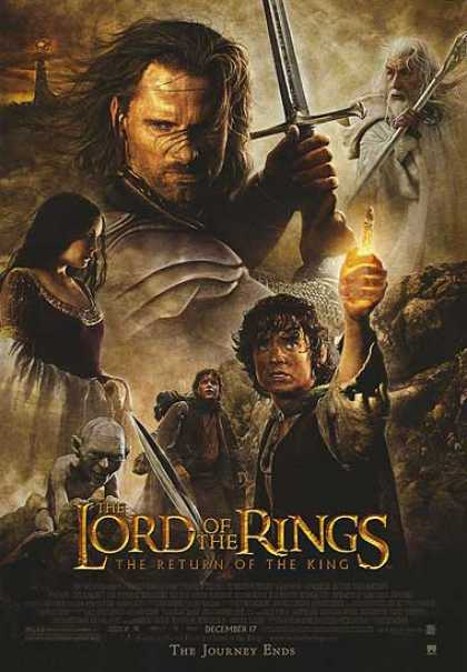 Essential Movies - Lord Of The Rings: The Return Of The King Poster