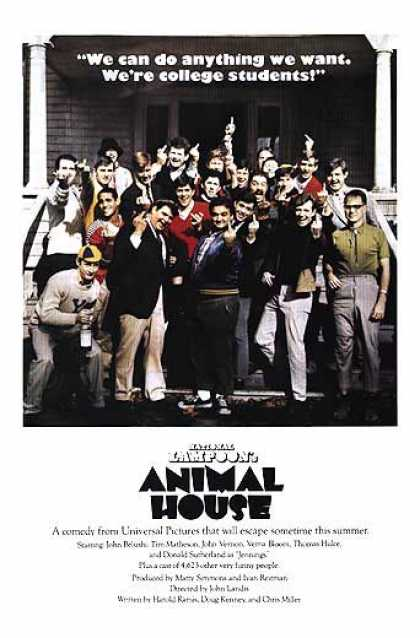 Essential Movies - Animal House Poster