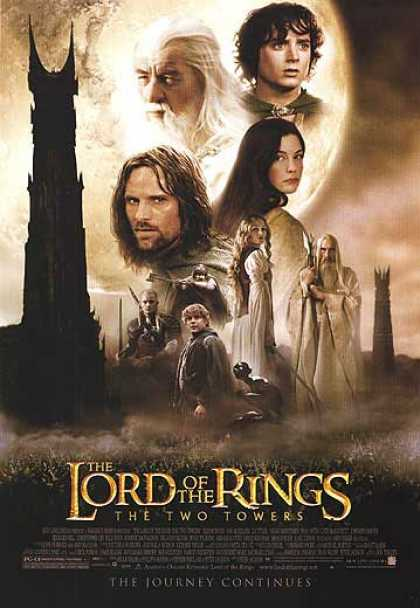 Essential Movies - Lord Of The Rings: The Two Towers Poster