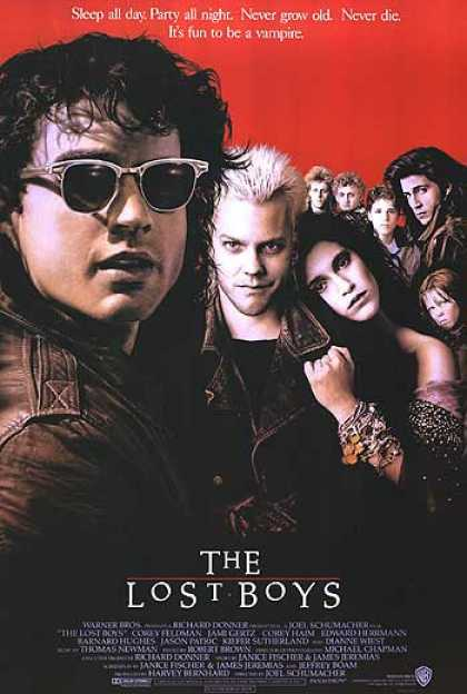 Essential Movies - Lost Boys Poster
