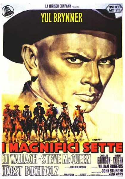 Essential Movies - Magnificent Seven Poster