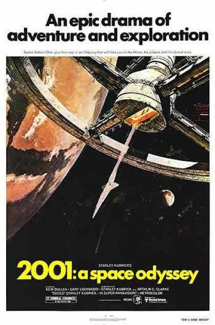 Essential Movies - 2001: A Space Odyssey Poster