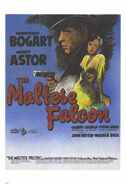 Essential Movies - Maltese Falcon Poster