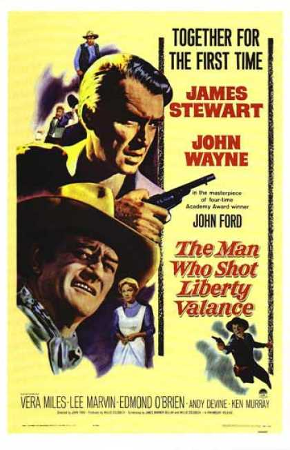 Essential Movies - Man Who Shot Liberty Valance Poster