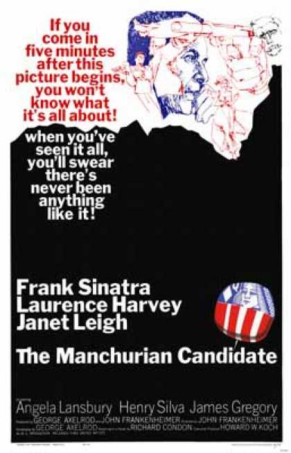 Essential Movies - Manchurian Candidate Poster