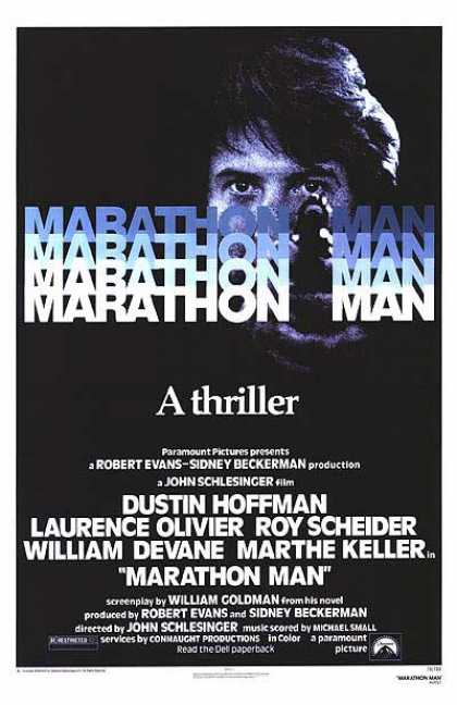 Essential Movies - Marathon Man Poster