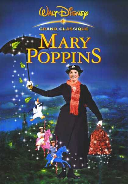 Essential Movies - Mary Poppins Poster