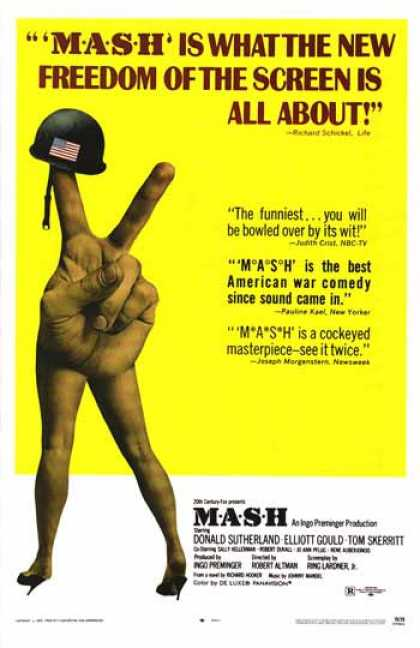 Essential Movies - Mash Poster