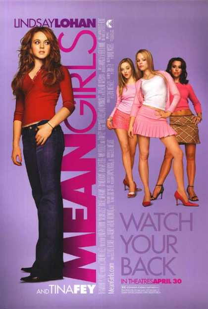 Essential Movies - Mean Girls Poster