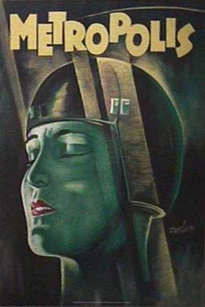 Essential Movies - Metropolis Poster