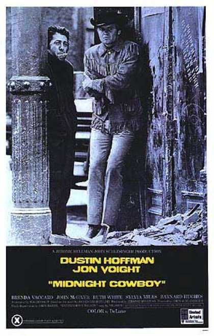 Essential Movies - Midnight Cowboy Poster