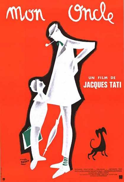 Essential Movies - Mon Oncle Poster