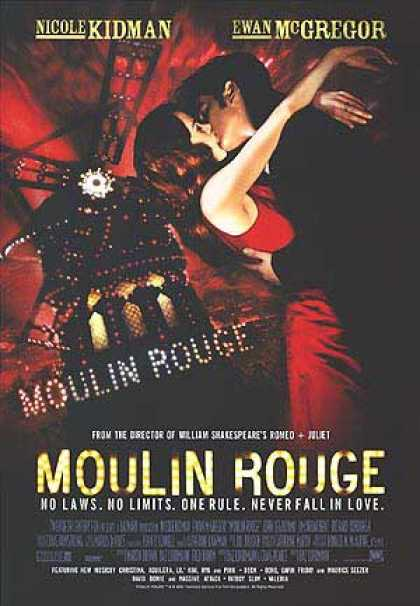 Essential Movies - Moulin Rouge Poster