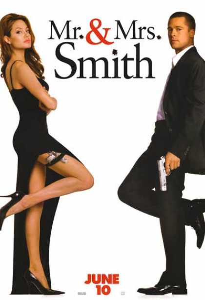 Essential Movies - Mr. And Mrs. Smith Poster