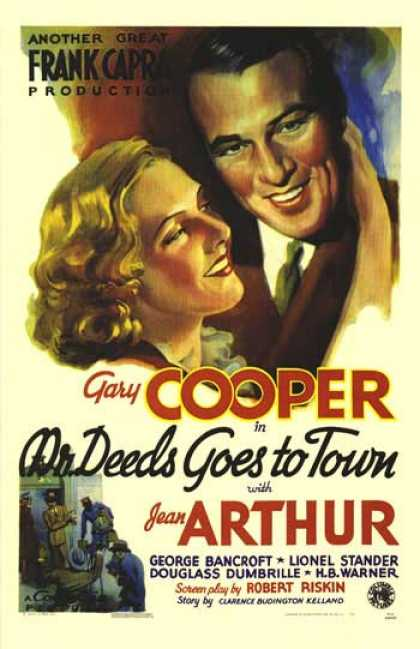 Essential Movies - Mr. Deeds Goes To Town Poster