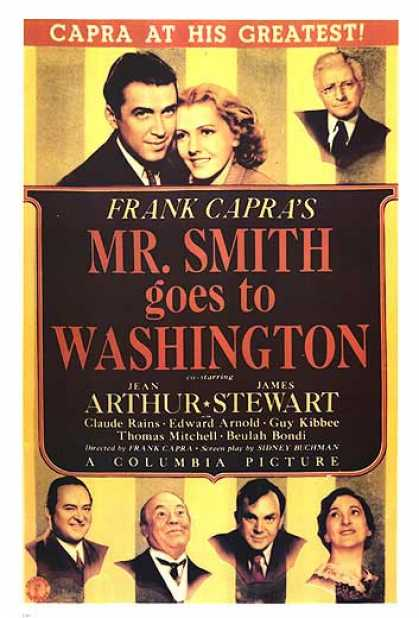 Essential Movies - Mr. Smith Goes To Washington Poster