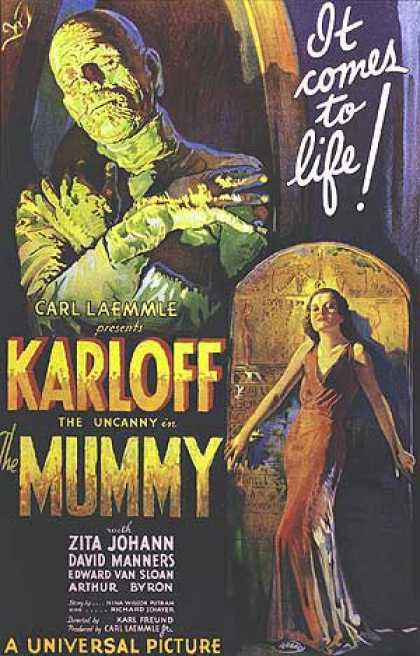 Essential Movies - Mummy Poster