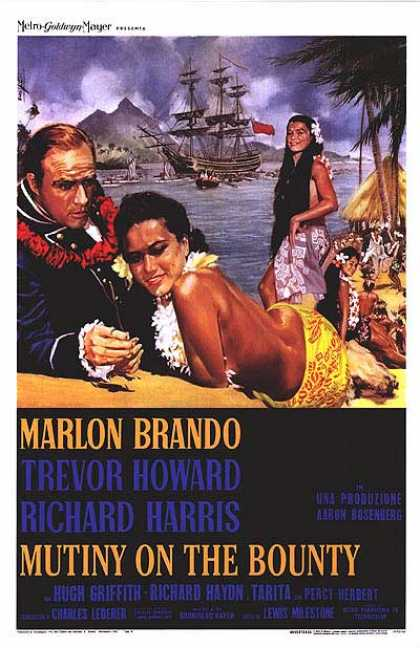 Essential Movies - Mutiny On The Bounty Poster