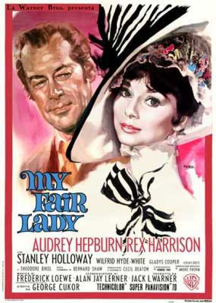 Essential Movies - My Fair Lady Poster