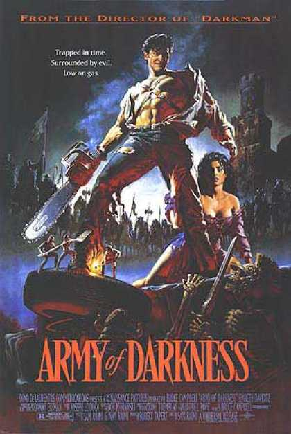 Essential Movies - Army Of Darkness Poster