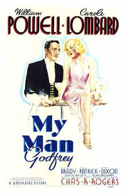 Essential Movies - My Man Godfrey Poster
