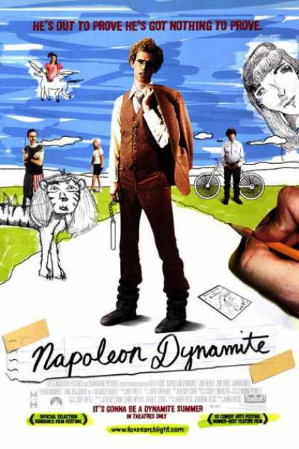 Essential Movies - Napoleon Dynamite Poster