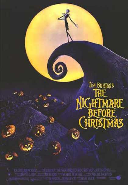 Essential Movies - Nightmare Before Christmas Poster