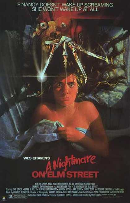 Essential Movies - Nightmare On Elm Street Poster