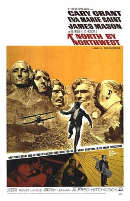 Essential Movies - North By Northwest Poster