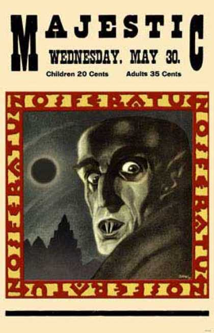 Essential Movies - Nosferatu Poster