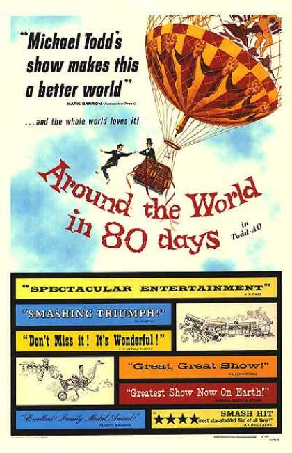 Essential Movies - Around The World In Eighty Days Poster