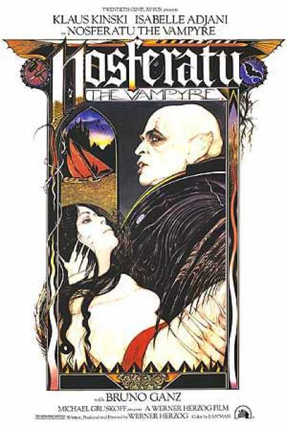 Essential Movies - Nosferatu The Vampire Poster