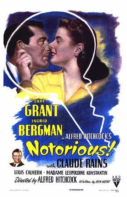 Essential Movies - Notorious Poster