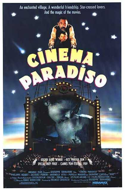 Essential Movies - Nuovo Cinema Paradiso Poster