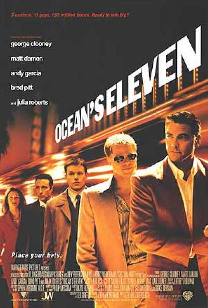 Essential Movies - Ocean's Eleven Poster