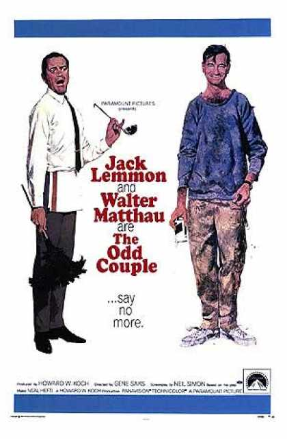Essential Movies - Odd Couple Poster