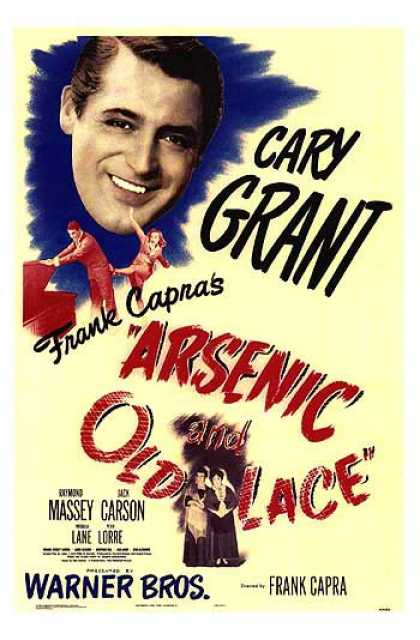 Essential Movies - Arsenic And Old Lace Poster