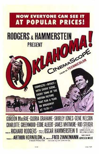 Essential Movies - Oklahoma Poster