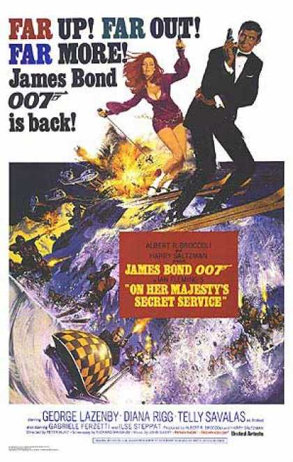 Essential Movies - On Her Majesty's Secret Service Poster