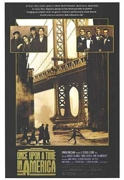 Essential Movies - Once Upon A Time In America Poster
